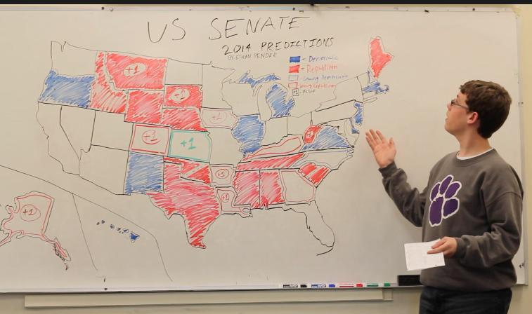 Ethan Pender's Senate Election Predictions 2014