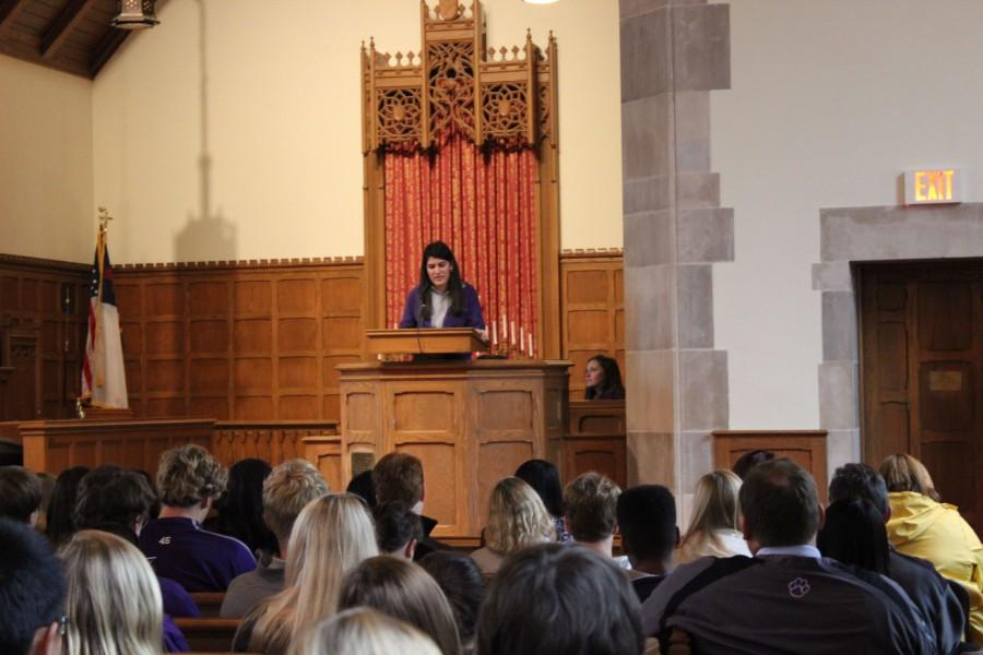 Senior Speeches: Nadin Kosedag