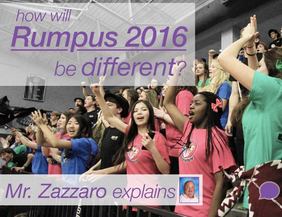 RUMPUS 2016 events no longer planned by prefects, faculty takes charge