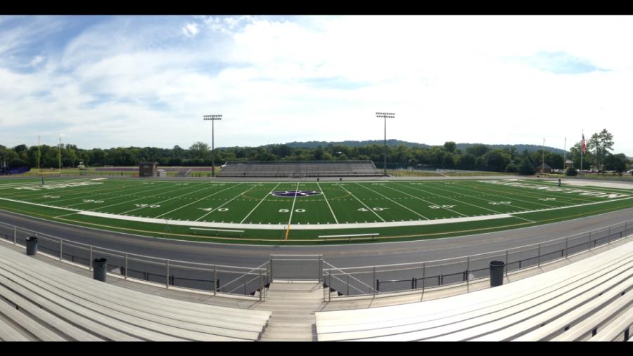 Panoramic view of Chris Hunter Stadium