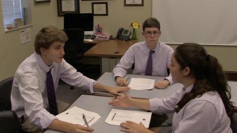 Charlie Shorey, Ethan Pender, and Sami dePass discuss politics.