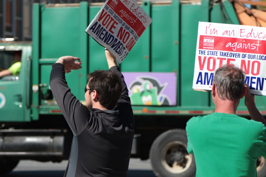Members of the Rome Democrat Party are energized by this year's election. They held a 7-day series of rallies on Broad Street in hopes of affecting voter turn out and choice.