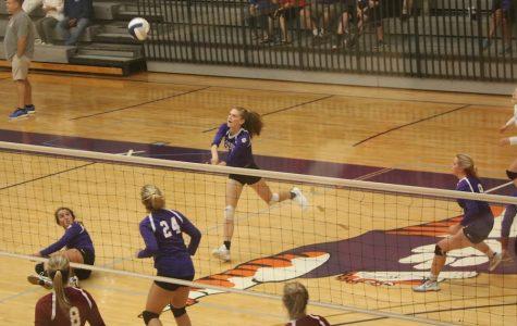 Varsity Volleyball team vs. Walker 8/31