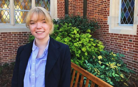 Anabelle Scarborough '18: Looking Into The Future