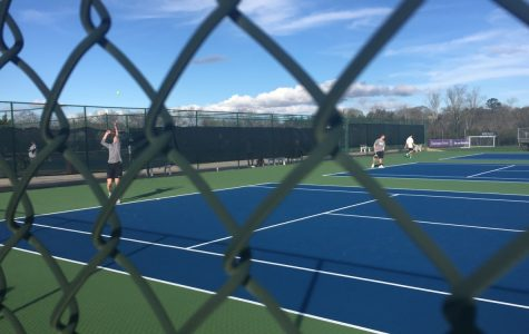 Tennis Match against Central Carrollton