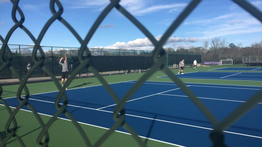Tennis+Match+against+Central+Carrollton