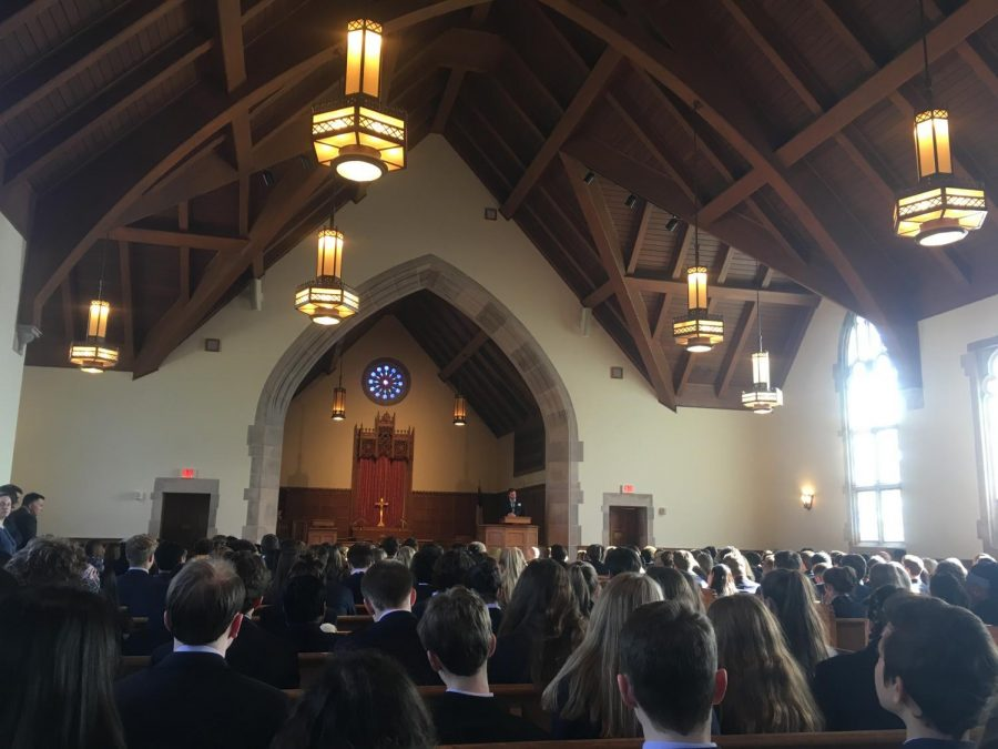 Light The Lake Chapel Service