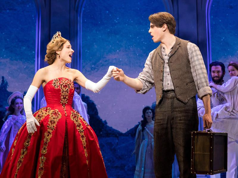Review of Anastasia on Broadway