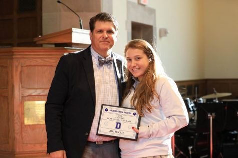 Alli Hagler '19: Acing Her Way Through High School