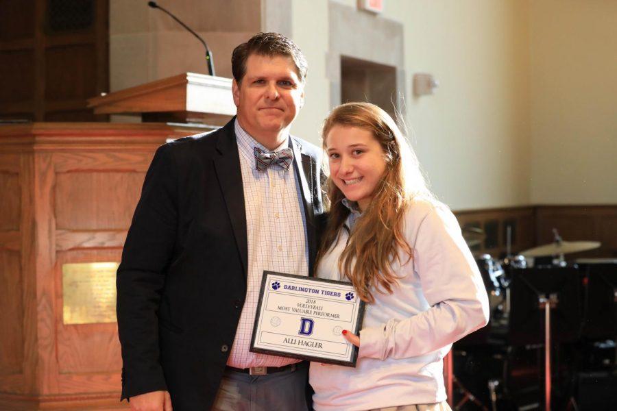 Alli Hagler '19: Acing Her Way Through High School