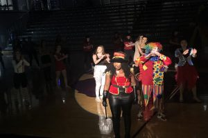 """Thornwood House dances to """"The Greatest Show."""