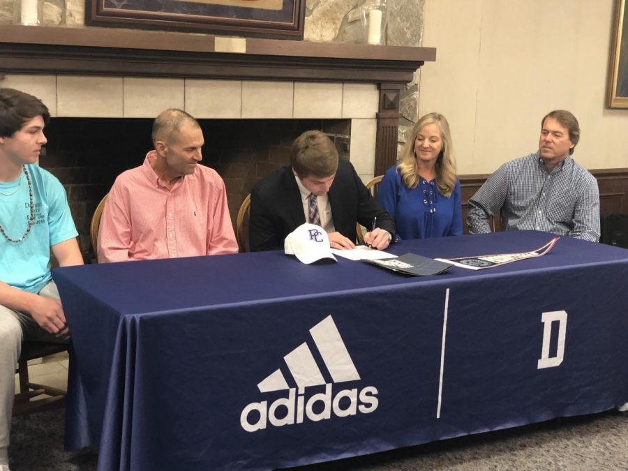 Cam Watson Signs With Presbyterian College